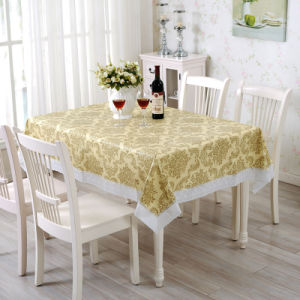 Gitter Printed Tablecloth PVC pictures & photos