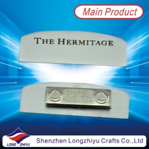 Magnetic Metal Engraved Nameplate for Company pictures & photos