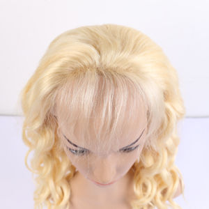 Platinum Blonde Wig Human Hair Full Lace 613 Blonde Color Hair Human Hair Wigs White Women, Best Natural Looking Wig pictures & photos