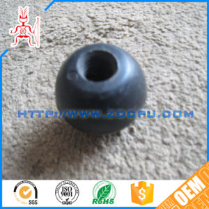 Custom Made Hard Solid NR Rubber Tyre Wheels pictures & photos