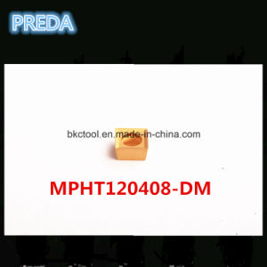 China Professional Carbide Tips for Steel Mpht120408-Dm pictures & photos