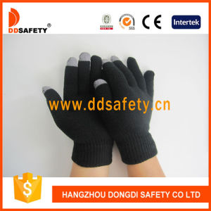 Black for iPhone Touchscreen Gloves Dkd438 pictures & photos