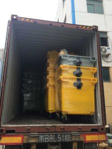 1100L PE Wheeled Garbage Contaienr Super Large Size pictures & photos