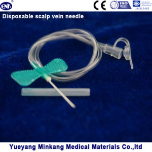 Disposable Scalp Vein Needle 21g (ENK-TPZ-016) pictures & photos