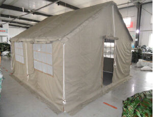 Army Camouflage 10-12men Frame Tent (RS15-01E) pictures & photos