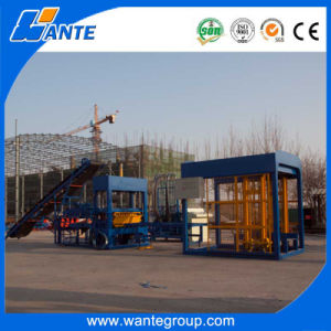 Wante Machinery Qt5-15 Automatic 1000mm Curbstone Hollow Block Machine to Algeria pictures & photos