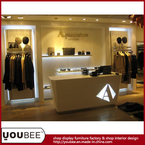Fashion Display Counters for Ladies′ Clothes Shop Design pictures & photos