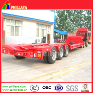 3-4axles 50-80tons Large Tank Arc Beam Low Bed Semi Trailer pictures & photos