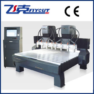 Engraving Machine China, CNC Router with Double Z Structure pictures & photos