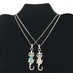 Fashion Lizard Necklace in China Direct Wholesale Price (FN16040805)