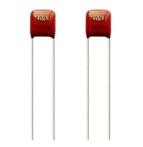50V 63V 100V Metallized Polyester Film Capacitor pictures & photos