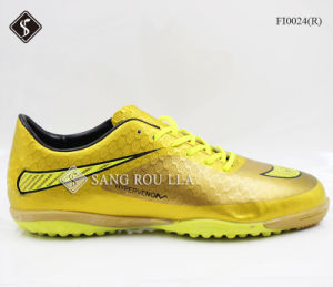 Men Sports Shoes Football Soccer Indoor Shoes pictures & photos