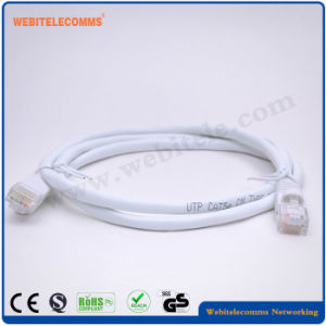 CCA Conductor, Colorful UTP Cat5e Patch Cord pictures & photos