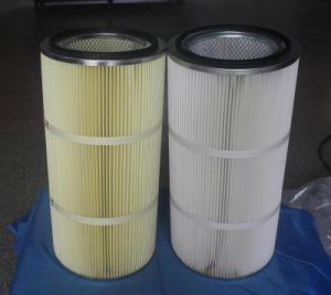 Spun Bonded Polyester Air Filter Cartridge Manufacture pictures & photos