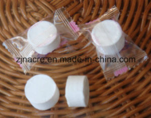 Nonwoven Compressed Magic Coin Tissue pictures & photos