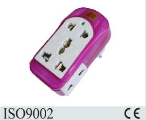CE Approved Colorful Design European Plug Adaptor pictures & photos