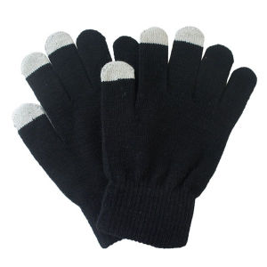 Men′s Fashion Acrylic Knitted Winter Touch Screen Magic Gloves (YKY5466) pictures & photos