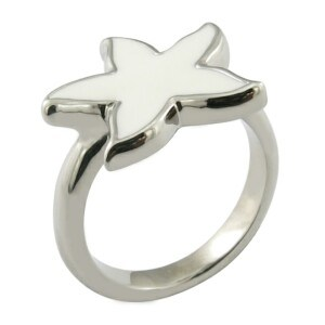 Ring Design Star Ring Enamal Ring Polished pictures & photos
