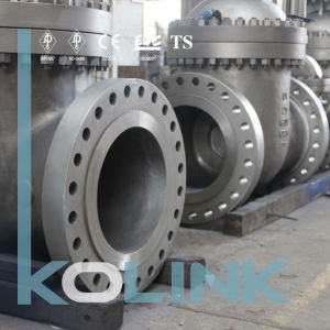 Stainless Steel Gate Valve Flange End with API6d, ISO pictures & photos