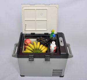 Mini DC Compressor Refrigerator 32liter DC12/24V with AC Adaptor (100-240V) for Car, Yacht, Office, Home Use pictures & photos