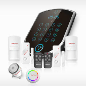 Alarms to Housing 2016 Advanced GSM Alarm System for Home Safety Monitoring Indoor/Outdoor Siren Alarm System pictures & photos