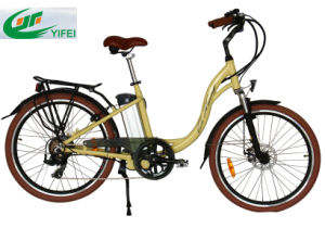 Ce 26 Inch City Electric Bike Retro Style pictures & photos