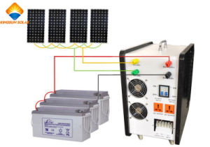 4000W Portable off Grid Powerful Solar Energy System pictures & photos