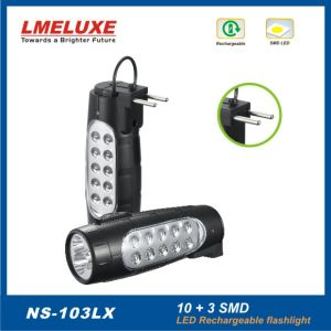 8 PCS SMD LED Rechargeable Emergency Flashlight pictures & photos