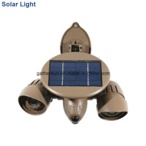 Solar Security Light with Early Warning Plane Appreance