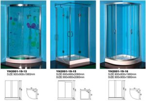 Shower Room in Different Shape pictures & photos