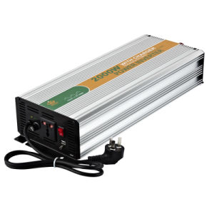 Solar Inverter and Battery Charge Drow 2000W pictures & photos