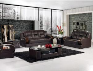 Living Room Sofa With Modern Genuine Leather Sofa Set