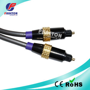 Gold-Plated Toslink to Toslink Cable pictures & photos