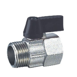 (HE-1301) Mini Ball Valve Pn25 with Good Quality for Water, Oil pictures & photos