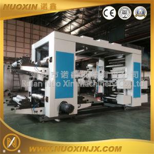 4 Colours Plastic Film Flexographic Printing Machine pictures & photos