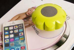 Wireless Flower Bathroom Waterproof Sound Suction Bluetooth Speaker pictures & photos