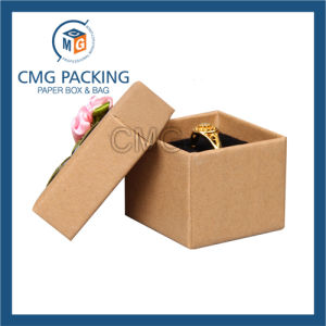Small Ancient Kraft Cardboard Ring Paper Box (CMG-PJB-120) pictures & photos