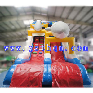 Giant Inflatable Double Water Slide Commercial Grade Inflatable Water Slide pictures & photos