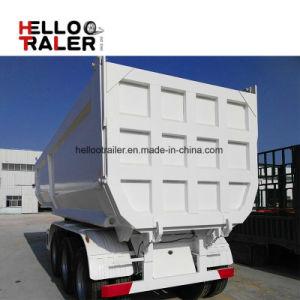 Hot Sale 3 Axles Tipper Semi Trailer and Rear Dump Semi-Trailer pictures & photos
