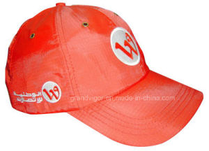 Ripstop Nylon Baseball Cap with Metal Eyelets pictures & photos