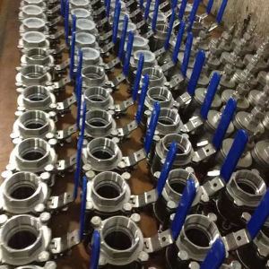 Tripartite Thread Ball Valve &3 Pieces Water Ball Valve pictures & photos