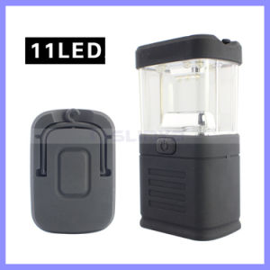 Very Small Size 11 LED Camping Tent Light Flashlight Lantern Emergency Lamp (1207) pictures & photos