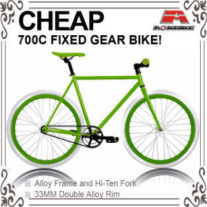 Cheap Hi-Ten 700c Fixed Gear Bicycle (ADS-7122S) pictures & photos