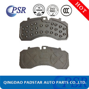 E-MARK Brake Pads Steel Backing Plate for Volvo Truck Parts pictures & photos