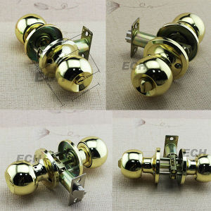 Hot Sale Gold Stainless Steel Door Lock (LM687) pictures & photos