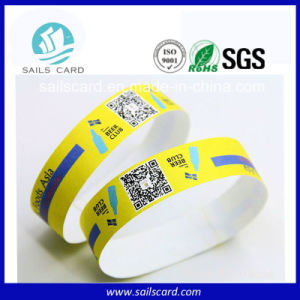 Hot Sell Personalized Ticket Wristbands for Exhibitions pictures & photos