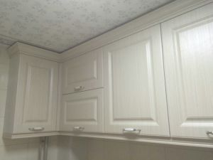 PVC Thermofoil Kitchen Cupboards pictures & photos