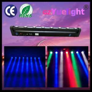 8X10W 4in1 RGBW Linear Beam Rotation Bar Moving Head LED Scan Light pictures & photos