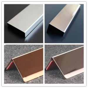 Inside Corner Metal Stainless Steel Tile Trim pictures & photos