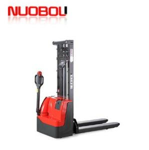 Full Electric Powered Forklift Pallet Stacker